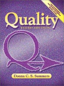 Quality, 3/e