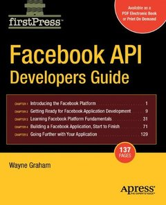Facebook API Developers Guide (Firstpress)-cover