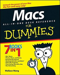 Macs All-in-One Desk Reference For Dummies (Paperback)-cover