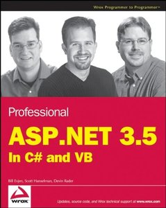 Professional ASP.NET 3.5: In C# and VB-cover