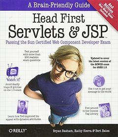 Head First Servlets and JSP : Passing the Sun Certified Web Component Developer Exam, 2/e (Paperback)-cover