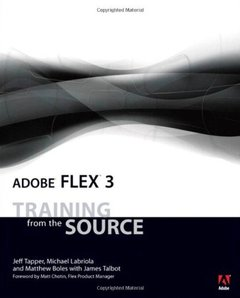 Adobe Flex 3: Training from the Source, 2/e-cover