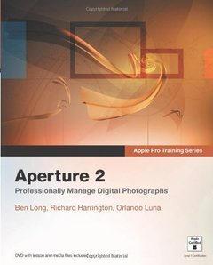 Apple Pro Training Series: Aperture 2 (Paperback)-cover