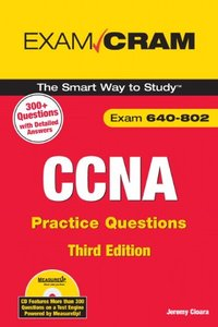 CCNA Practice Questions (Exam 640-802), 3/e (Paperback)-cover