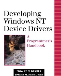 Developing Windows NT Device Drivers: A Programmer's Handbook (paperback)-cover