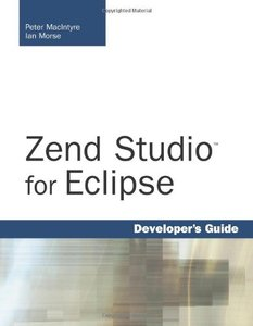 Zend Studio for Eclipse Developer's Guide-cover