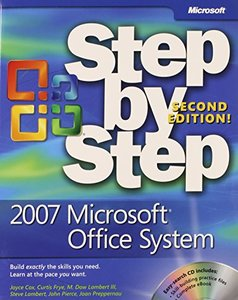 2007 Microsoft Office System Step by Step, 2/e (Paperback)-cover