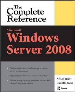 Microsoft Windows Server 2008: The Complete Reference (Paperback)-cover