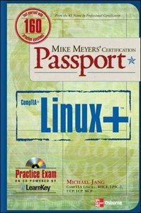 Mike Meyers' Linux+ Certification Passport-cover