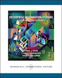 Enterprise Information Systems: A Pattern-Based Approach, 3/e