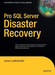 Pro SQL Server Disaster Recovery-cover