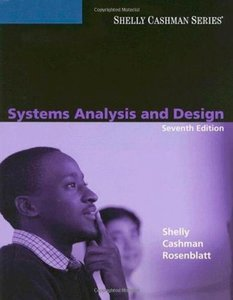 Systems Analysis and Design, 7/e (Paperback)-cover