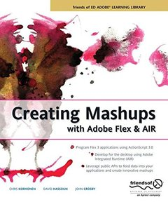 Creating Mashups with Adobe Flex and AIR (Paperback)-cover