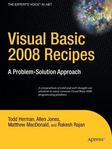 Visual Basic 2008 Recipes: A Problem-Solution Approach-cover
