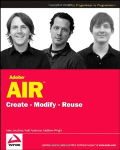 Adobe AIR: Create - Modify - Reuse (Paperback)-cover