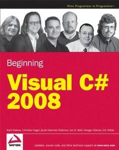Beginning Microsoft Visual C# 2008-cover