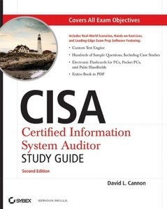 CISA: Certified Information Systems Auditor Study Guide, 2/e-cover