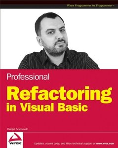 Professional Refactoring in Visual Basic-cover