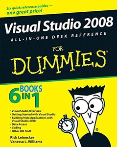 Visual Studio 2008 All-In-One Desk Reference For Dummies-cover