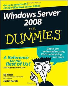 Windows Server 2008 For Dummies-cover