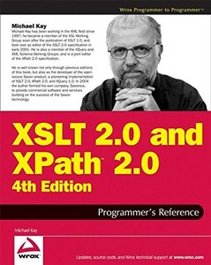 XSLT 2.0 and XPath 2.0 Programmer's Reference, 4/e-cover