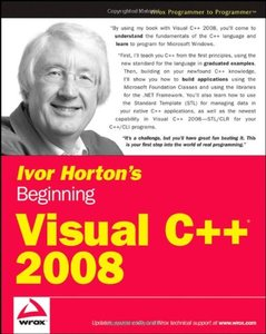 Ivor Horton's Beginning Visual C++ 2008 (Paperback)-cover