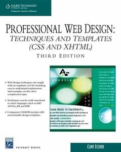 Professional Web Design: Techniques and Templates (CSS & XHTML), 3/e-cover
