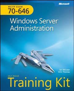 MCITP Self-Paced Training Kit (Exam 70-646): Windows Server Administration (Hardcover)-cover