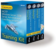 MCITP Self-Paced Training Kit (Exams 70-640, 70-642, 70-646): Server Administrator Core Requirements-cover