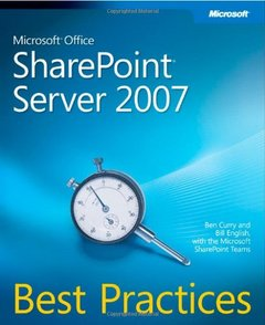Microsoft Office SharePoint  Server 2007 Best Practices (Paperback)-cover