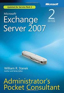 Microsoft Exchange Server 2007 Administrator's Pocket Consultant, 2/e-cover