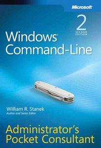 Windows Command-Line Administrator's Pocket Consultant, 2/e (Paperback)-cover