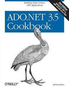 ADO.NET 3.5 Cookbook, 2/e (Paperback)-cover