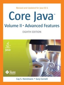 Core Java, Volume II -- Advanced Features, 8/e (Paperback)-cover