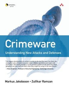 Crimeware: Understanding New Attacks and Defenses (Paperback)-cover