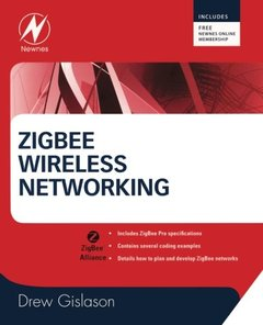 Zigbee Wireless Networking (Paperback)-cover