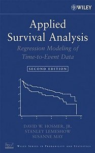 Applied Survival Analysis: Regression Modeling of Time to Event Data, 2/e (Hardcover)-cover