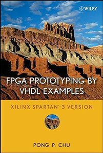 FPGA Prototyping by VHDL Examples: Xilinx Spartan-3 Version (Hardcover)-cover