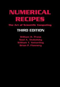 Numerical Recipes: The Art of Scientific Computing, 3/e (Hardcover)-cover