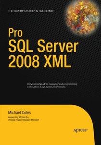 Pro SQL Server 2008 XML-cover