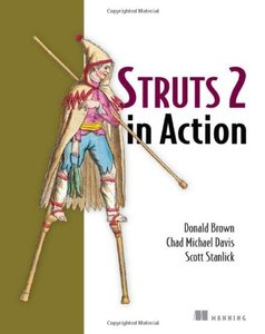 Struts 2 in Action (Paperback)-cover