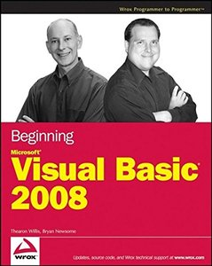 Beginning Microsoft Visual Basic 2008-cover