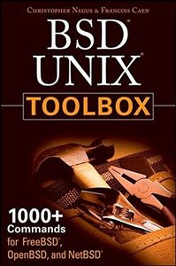 BSD UNIX Toolbox: 1000+ Commands for FreeBSD, OpenBSD and NetBSD-cover