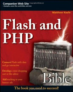 Flash and PHP Bible (Paperback)-cover
