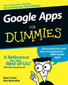 Google Apps For Dummies-cover