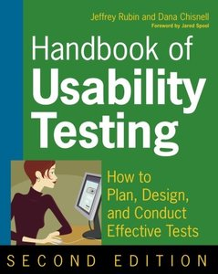 Handbook of Usability Testing: Howto Plan, Design, and Conduct Effective Tests, 2/e-cover