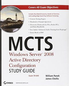 MCTS: Windows Server 2008 Active Directory Configuration (Exam 70-640) (Paperback)-cover