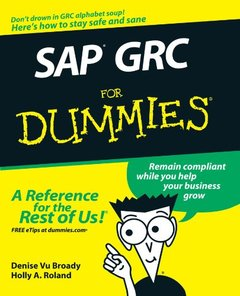 SAP GRC For Dummies (Paperback)-cover