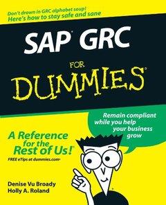 SAP GRC For Dummies (Paperback)