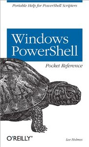 Windows PowerShell Pocket Reference (Paperback)-cover